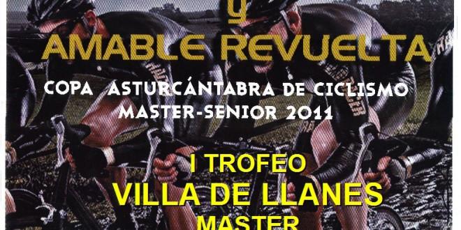 Cartel del 1er Trofeo Villa de Llanes