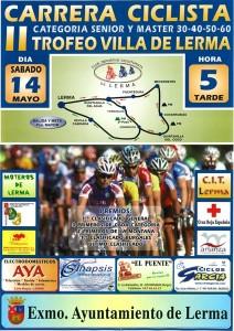 Cartel del II Trofeo Villa de Lerma