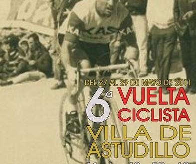 Cartel de la VI Vuelta Ciclista a Astudillo
