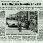 Noticia en El Mundo Valladolid 18/07/2011
