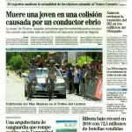Portada de El Mundo Valladolid 18/07/2011