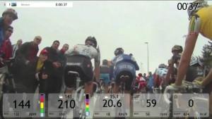 Bkool Vídeo real en la Vuelta España
