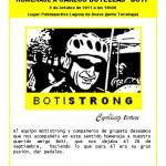 Cartel de la quedada homenaje a Boti