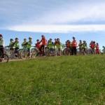 Aula en Bici en el campo