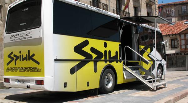 Autobús Sportpublic/Spiuk