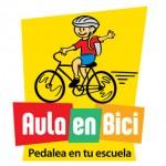 Logotipo del proyecto Aula en bici