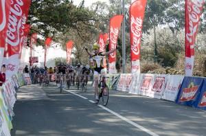 Cipri gana la 2ª etapa de la Vuelta a Santander