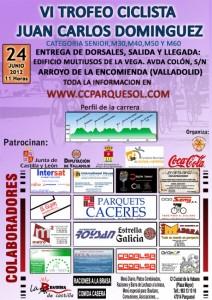Cartel VI Trofeo Juan Carlos Domínguez