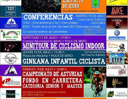 Cartel del Campeonato de Asturias 2012 en Pola de Siero