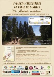 Cartel Gran Premio Canal de Castilla 2012