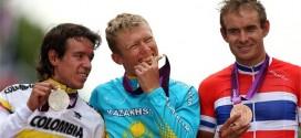 Podium JJ.OO. 2012 ruta hombres