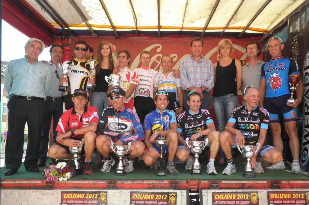 Premiados en el Trofeo Virgen del Carmen 2012