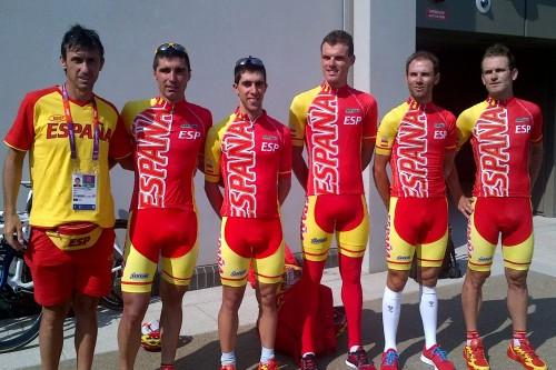 Selección española de ciclismo en ruta JJ.OO. 2012