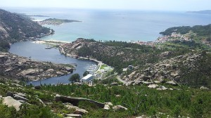 Vista desde el Mirador del Ézaro