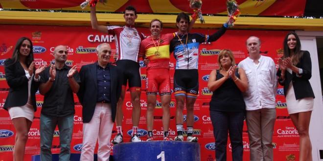 Podium M30 del Campeonato de España de la RFEC 2012