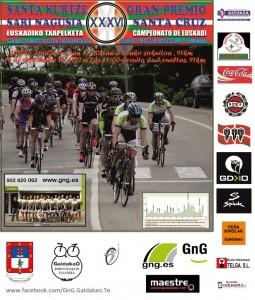 Cartel del Campeonato de Euskadi 2012