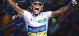 Contador vencedor y líder en Fuente Dé