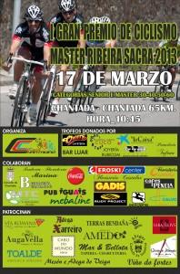Cartel I Gran Premio Ribeira Sacra