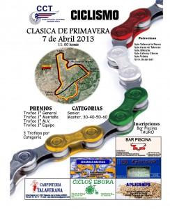 Cartel Clásica Primavera Joaquín Polo