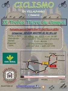 Cartel II Trofeo Máster Tierra de Campos