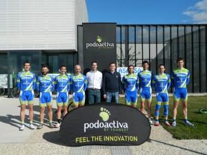 Goerna y Podoactiva, uno de los patrocinadores de la carrera. Foto: Goerna - Intrespa