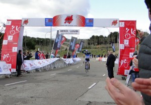 Felipe Peces gana en Montecarmelo. Foto: Orquín