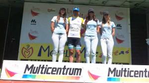 Líder 2ª etapa Vuelta a Murcia Máster 2013. Foto: G.D. Orquín
