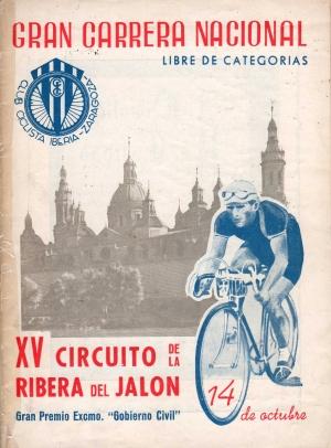 Cartel de 1945 de La Ribera del Jalón