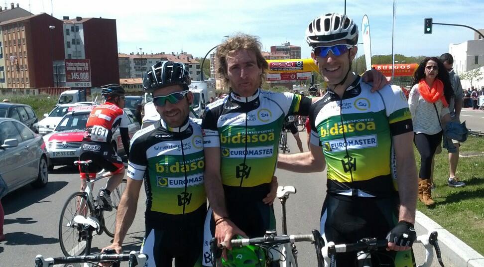 Transportes Bidasoa con Ion Zeberio, ganador de la prueba