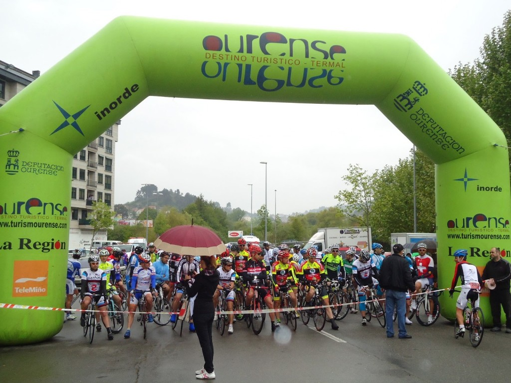 Salida del V Campeonato de la Península Ibérica