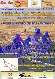 Cartel Trofeo Villa de los Balbases 2013