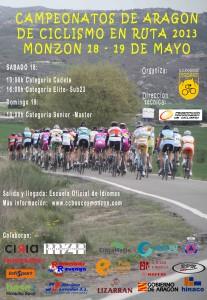 Cartel del Campeonato de Aragón 2013