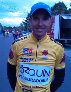 Alberto Sánchez. Foto: Federación Madrileña de Ciclismo