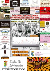 Cartel del III Memorial Arturo Carrio