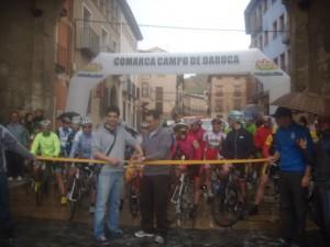 Salida. Foto: Club Ciclista Darocense