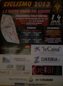 Cartel LV Trofeo Virgen del Carmen