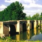 Puente sobre el Pisuerga en Lantadilla