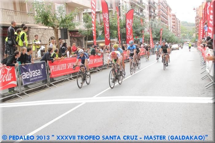 Sprint Barrón vs Meoqui. Foto: pedaleo.com