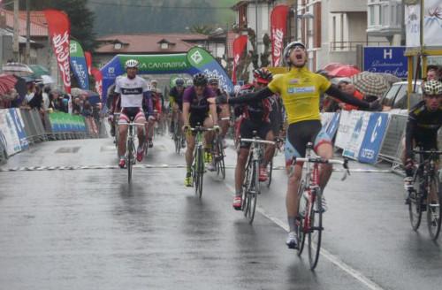 Alberto Sánchez en la Vuelta a Cantabria 2011