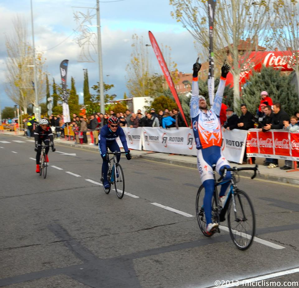 Carlos Alberto Sendín. Foto: Federación Madrileña de Ciclismo