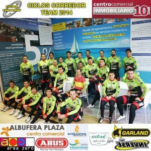 Equipo Máster Ciclos Corredor 2014
