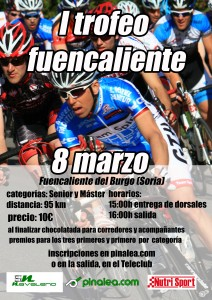 Cartel I Trofeo Fuencaliente