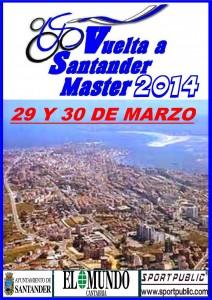 CARTEL VUELTA A SANTANDER MASTER 2014