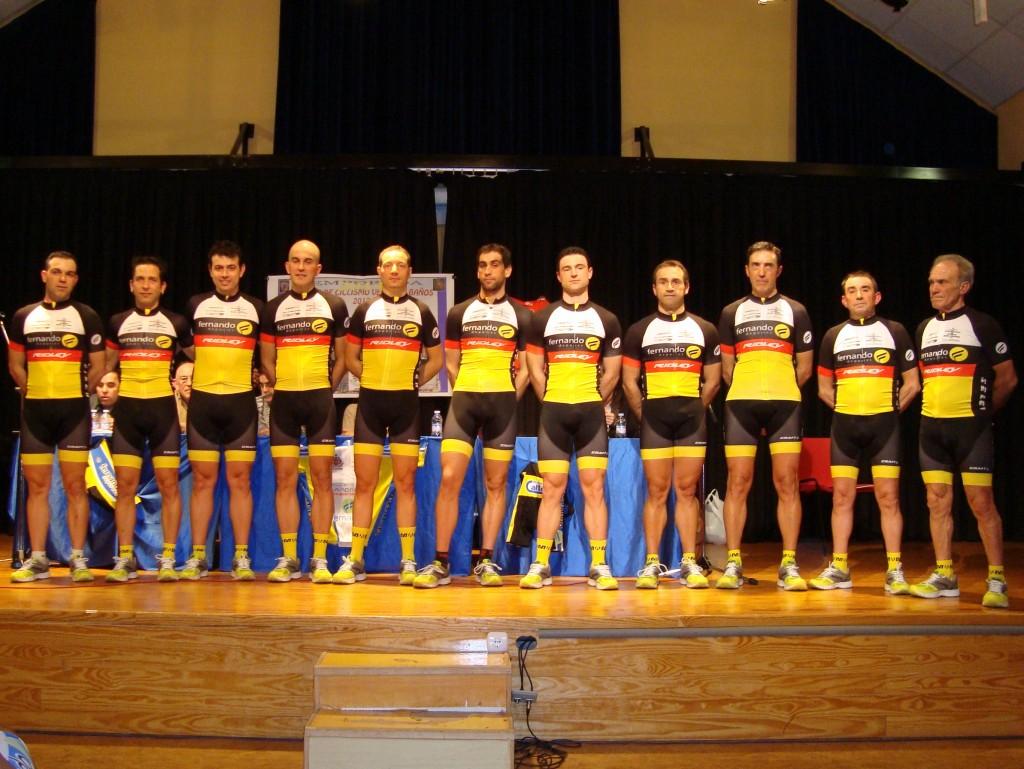 Foto de grupo del Deportes Fernando - BSR Seler