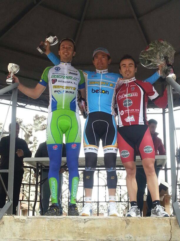 Luengo, Goñi y Juanikorena. Foto: Goerna