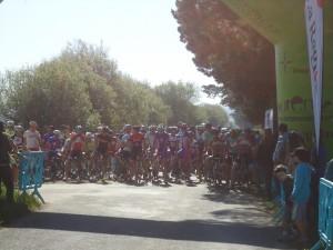 Salida 1ª etapa Los 4 días de Ourense