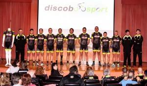 Equipo ciclista máster Discobolo Sport