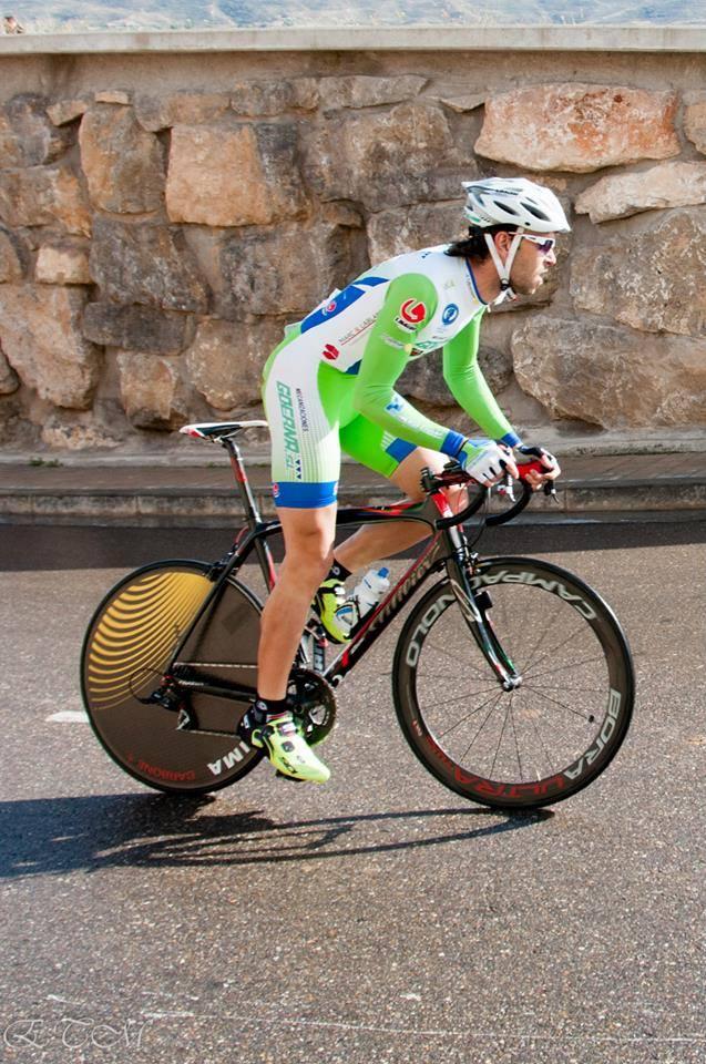 Larrea fue de los pocos que optaron por rueda lenticular. Foto: Goerna