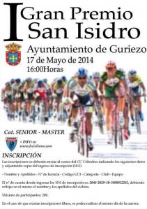 Cartel I GP San Isidro. Master Guriezo