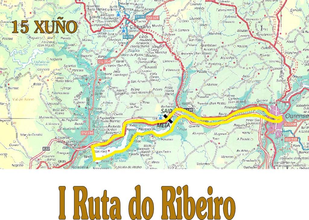 Recorrido Ruta do Ribeiro 2014